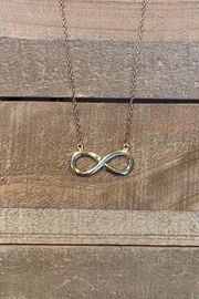 Allie & Chica Gold Infinity Necklace - Product Mini Image