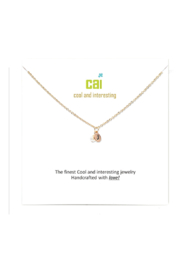 Cool and Interesting Gold Initial W/ Pearl Necklace - Other