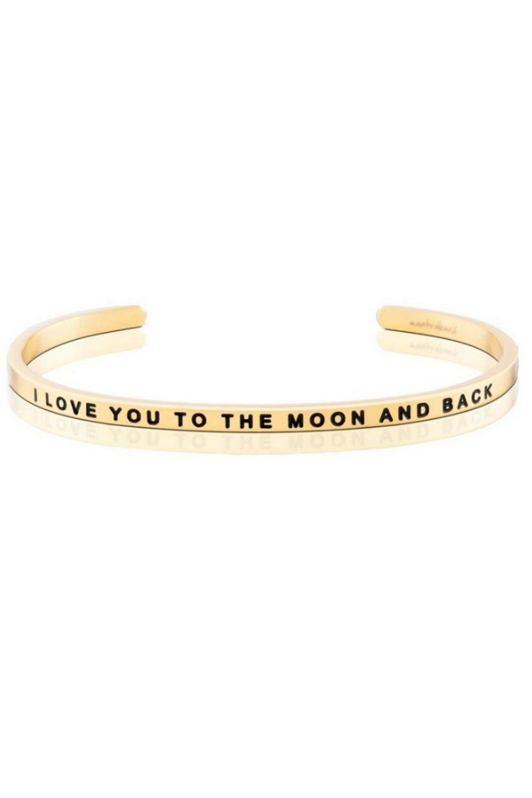 Gold Inspirational Cuff - Main Image