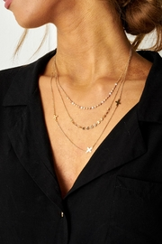 frontrow Gold Layered Necklace - Product Mini Image