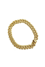 Lets Accessorize Gold Link Bracelet - Product Mini Image