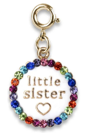 High Intencity Gold Little Sister Charm - Product Mini Image