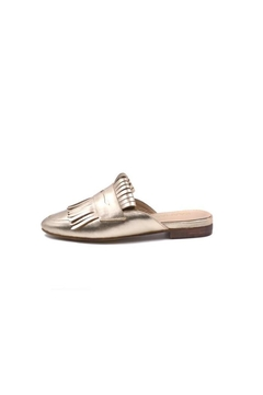 Kaanas Gold Loafer Mule - Product List Image