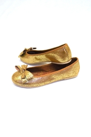 Annik Flats Gold Marieta Flat - Side cropped