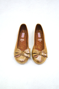 Shoptiques Product: Gold Marieta Flat