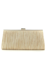 Adrianna Papell Gold Metallic Clutch - Product Mini Image