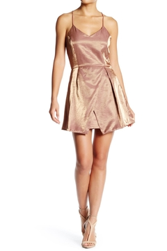 After Market Gold Metallic Dress - Product List Image