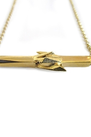 Malia Jewelry Gold Mineral Necklace - Front full body