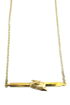 Shoptiques Product: Gold Mineral Necklace