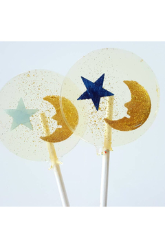 The Birds Nest GOLD MOON & STAR LOLLIPOPS - Product List Image