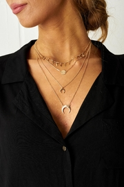 frontrow Gold Multi-Layer Necklace - Product Mini Image