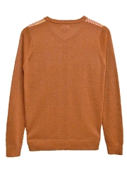 Yal NY Gold Multi Sweater - Front full body