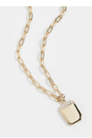 Shashi Gold Necklace - Front cropped