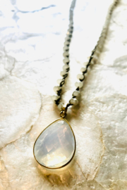 An Old Soul Jewelry Emerald of the South Pacific Necklace - Product Mini Image