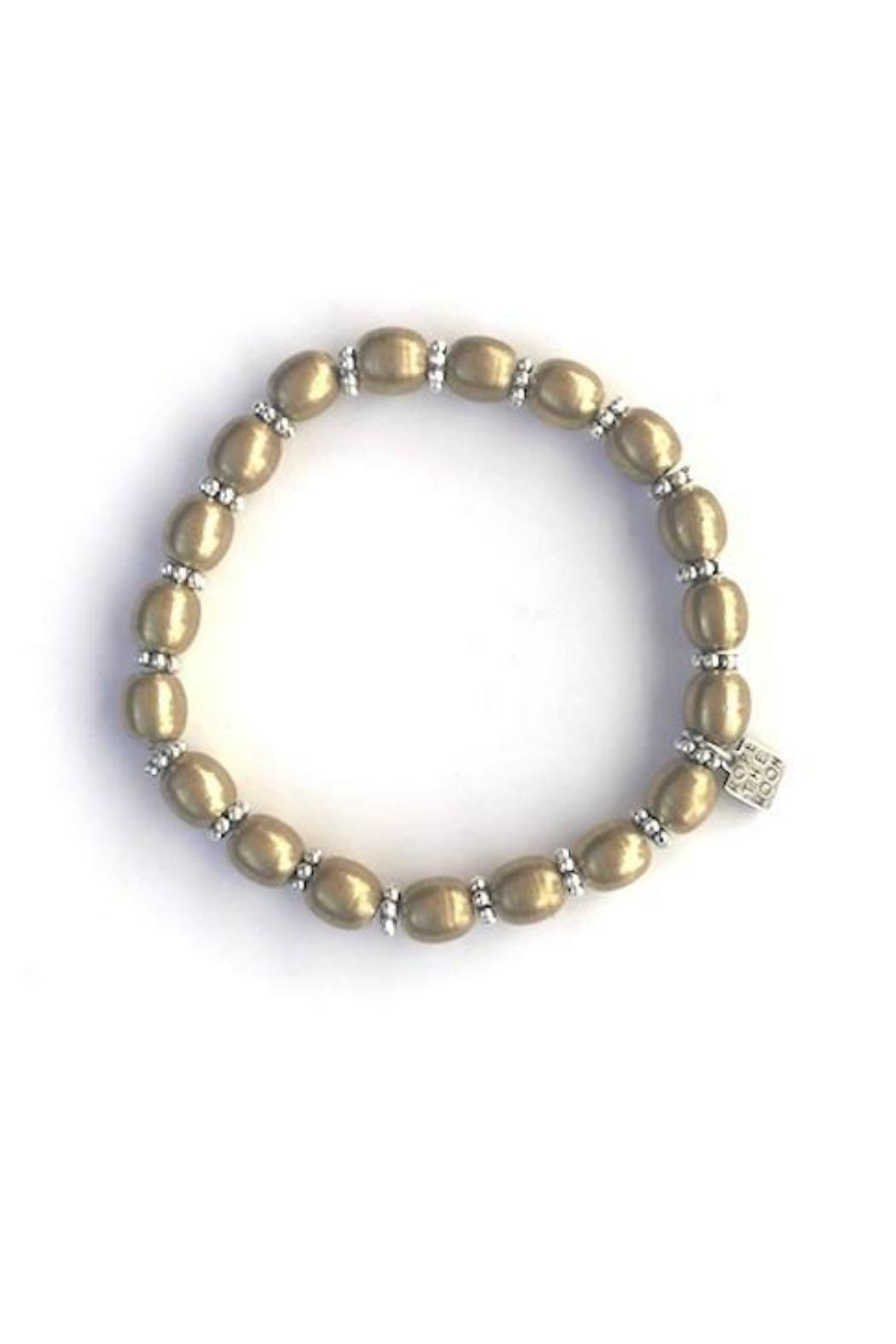 Rope the Moon Gold Pandora Bracelet - Front Cropped Image