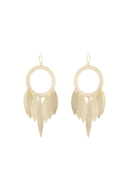 Marcia Moran Gold Paris Earrings - Product Mini Image