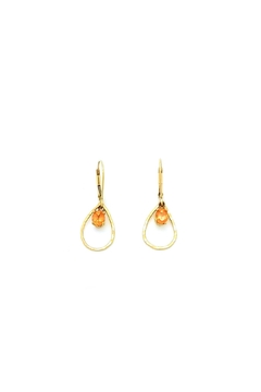 Laura Jane's Jewelry Gold Pear Earrings - Product List Image