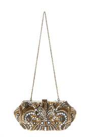 Santi Gold Pearl Clutch - Front full body