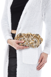 Santi Gold Pearl Clutch - Side cropped