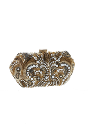 Santi Gold Pearl Clutch - Front cropped