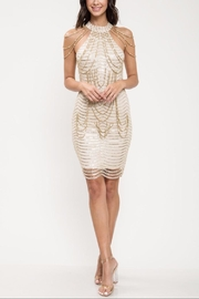 Latiste Gold Pearl Dress - Product Mini Image