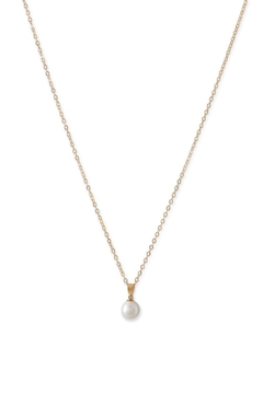Shoptiques Product: Gold Pearl Necklace