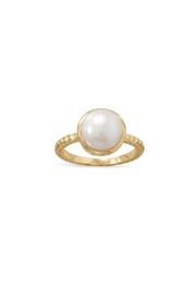 Wild Lilies Jewelry  Gold Pearl Ring - Product Mini Image