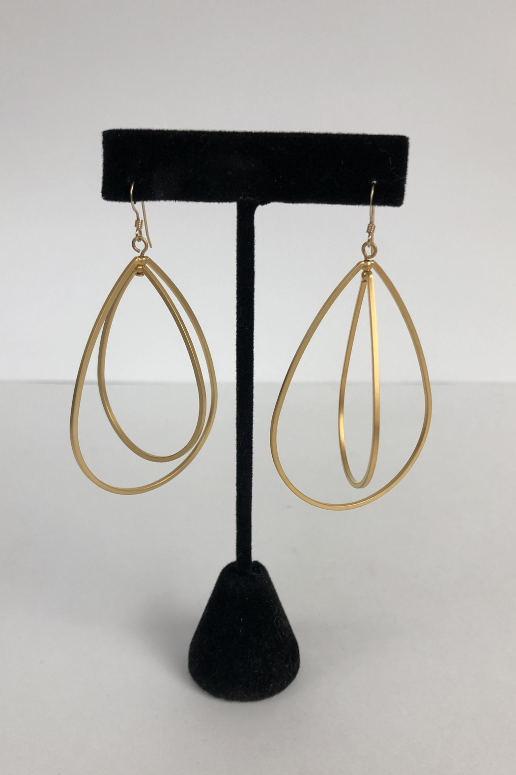 Toto Collection Gold Plated Drop Earrings - Main Image