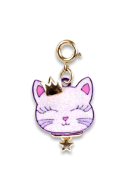 High Intencity Gold Princess Kitty Charm - Product Mini Image