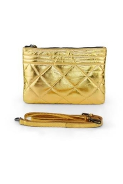 Shoptiques Product: Gold Puffy Clutch