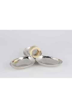 The Birds Nest GOLD RING 3 DISH SERVER - Product List Image
