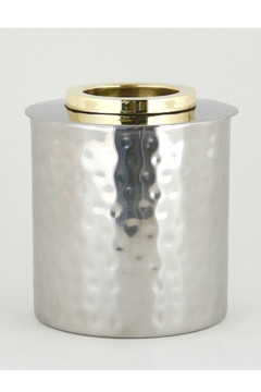 The Birds Nest GOLD RING ROUND TISSUE BOX - Product List Image