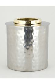 The Birds Nest GOLD RING ROUND TISSUE BOX - Product Mini Image