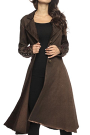 Adore Gold Rose Duster - Product Mini Image