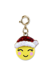 Charm It Gold Santa Emoji Charm - Product Mini Image