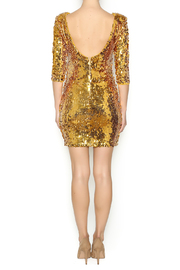 Gold Sequin Dress - Side cropped