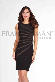 Frank Lyman Gold sequin embellished LBD - Product Mini Image