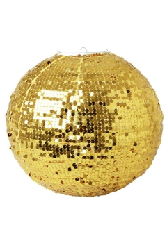 Rice DK Gold Sequin Lampshade - Alternate List Image