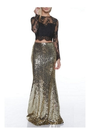 maniju Gold Sequin Maxi - Product Mini Image