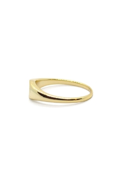Five and Two Gold Signet Ring - Alternate List Image