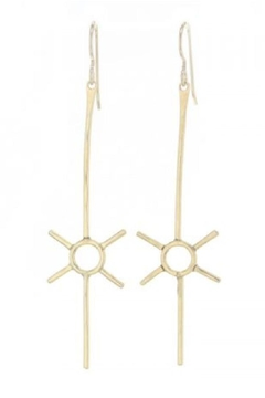 Lotus Jewelry Studio Gold Sol Earrings - Product List Image