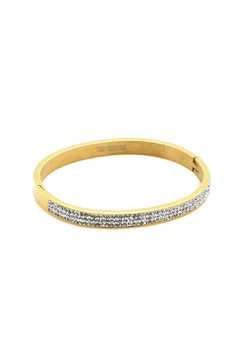 Shoptiques Product: Gold Sparkle Cuff