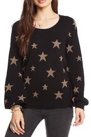 Chaser Gold-Star Crew-Neck Pullover - Product Mini Image