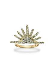 Jaimie Nicole Gold-Starburst Half Ring - Product Mini Image