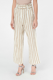 Best Mountain Gold Striped Paper bag Pant - Product Mini Image