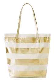 Shiraleah Gold Striped Tote - Product Mini Image