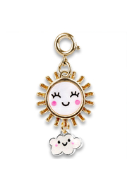 Charm It Gold Sunshine Charm - Front cropped