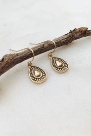 Wild Lilies Jewelry  Gold Teardop Earrings - Product Mini Image