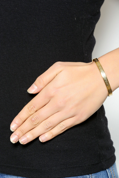 Shoptiques Product: Gold Thin Cuff