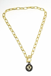 Italian Ice Gold Toggle Necklace - Product Mini Image